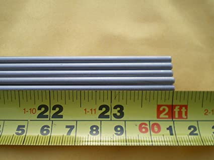 "1 PCS X 24/"" LONG STAINLESS STEEL ROUND ROD 304 4MM. .156/"" 5//32/"""