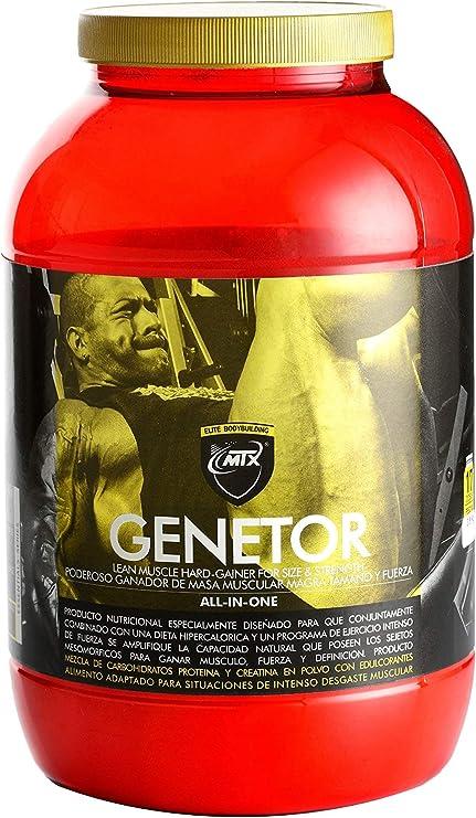 MTX nutrition MuscleGAINER -Genetor- [1,5 Kg.] Vainilla - Suplemento PREMIUM que combina [ALL in ONE] proteínas de suero, carbohidratos avanzados