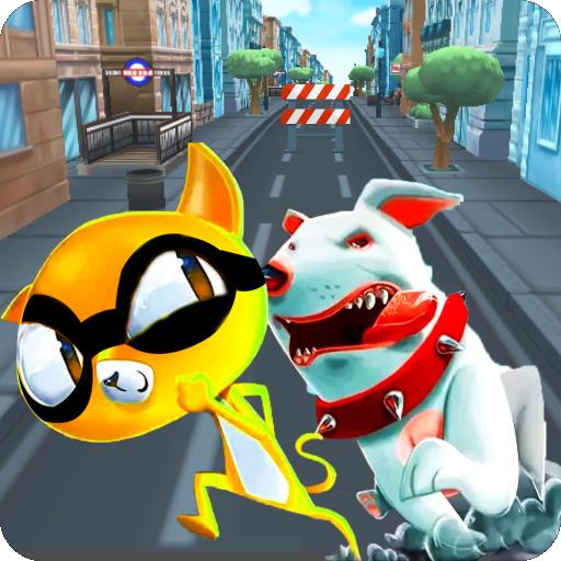 Ninja Cat Game - Cute Pet Subway Surf Cat Rush ()