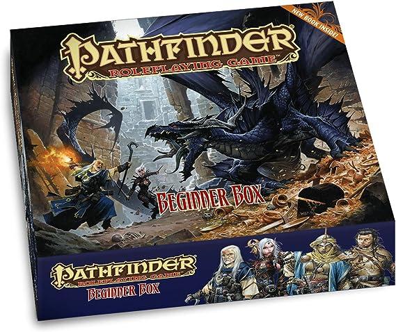 Pathfinder Roleplaying Game: Beginner Box: Bulmahn, Jason, Bulmahn, Jason: Amazon.es: Juguetes y juegos