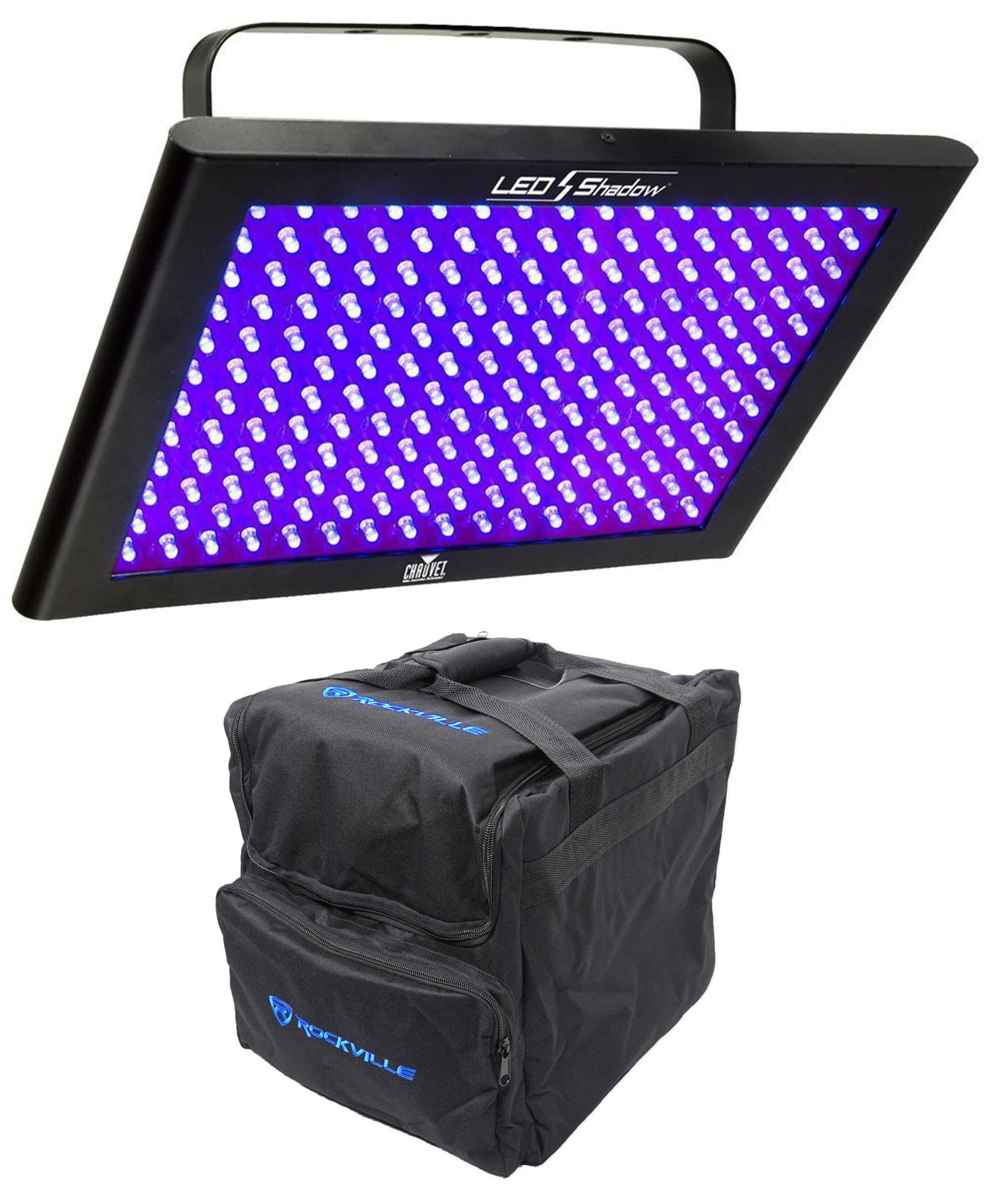 Chauvet DJ LED SHADOW / Club DMX 512 3 CH. Blacklight Panel+Carry Bag LEDSHADOW