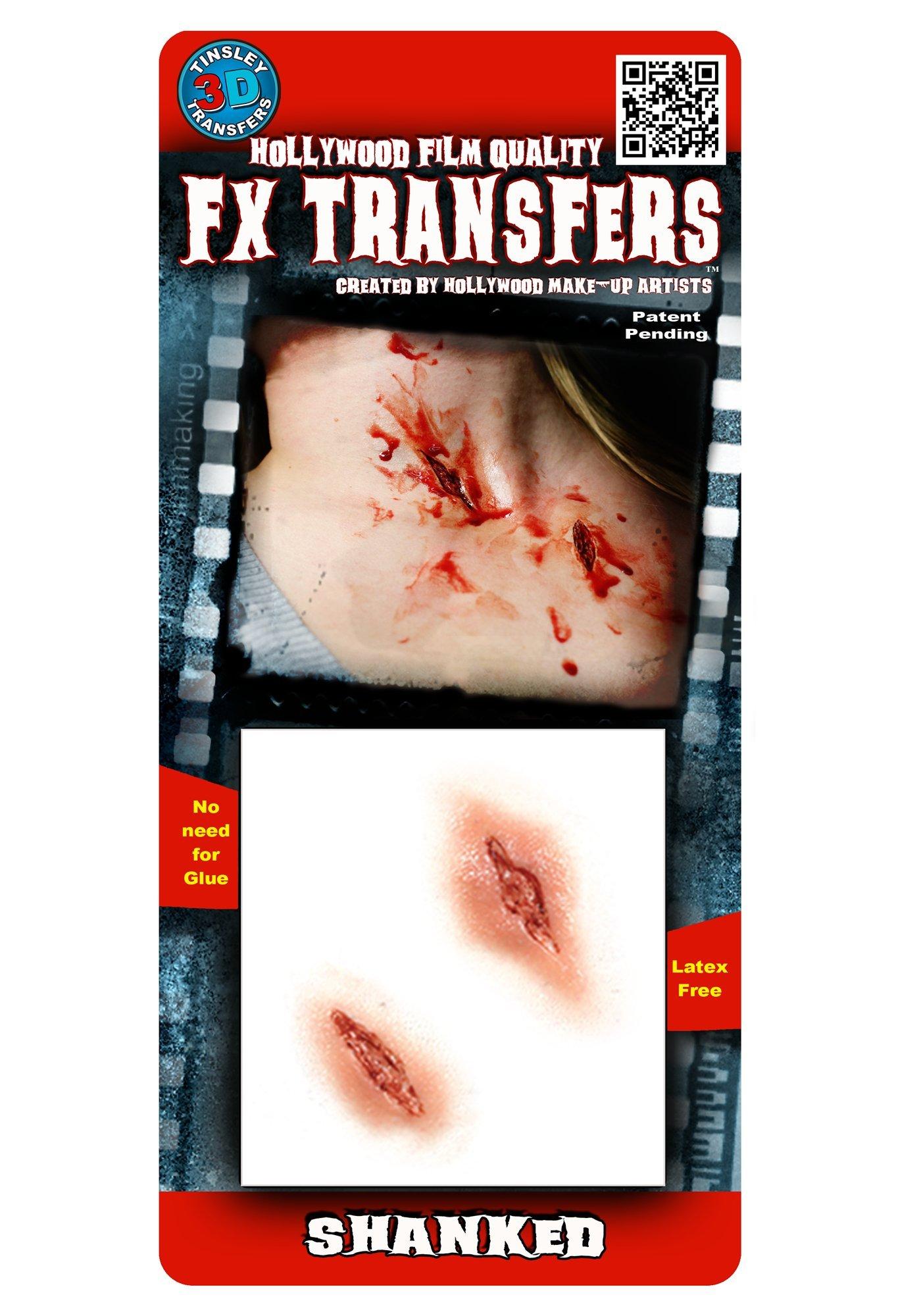 Tinsley Transfers  Shanked, Flesh/Multi, One Size