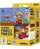 Super Mario Maker (inkl. amiibo 8-Bit Mario Figur + Artbook) - [Wii U]