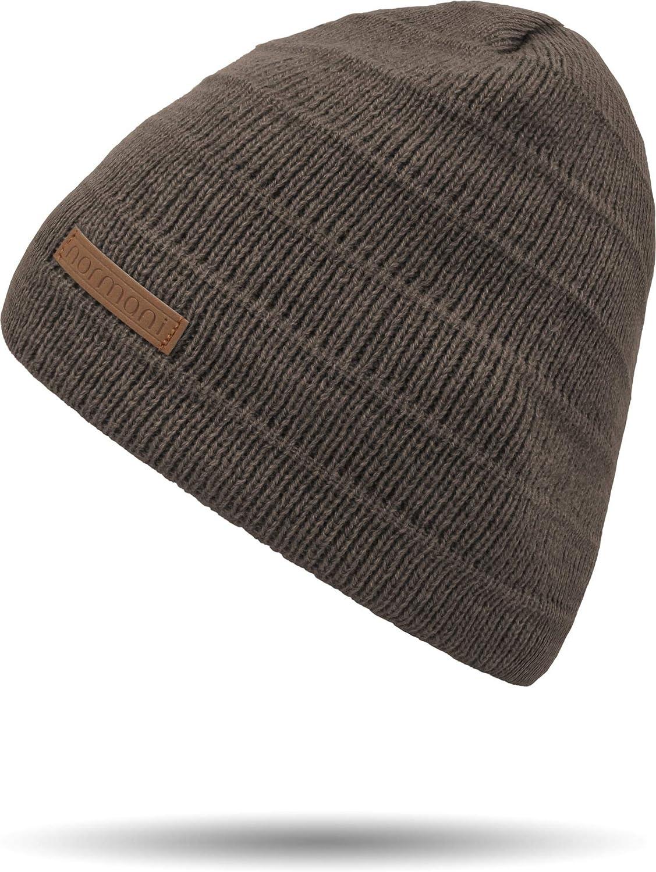 normani Winterset bestehend aus M/ütze und Schal mit Schafwolle
