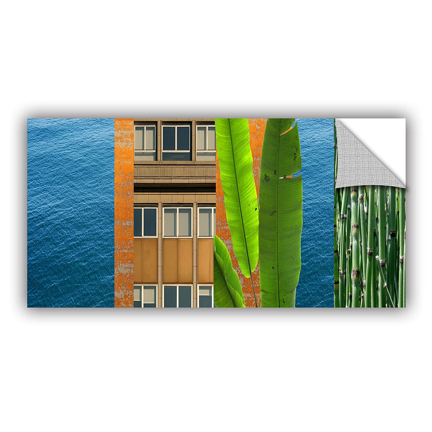 ArtWall Jan Weiss Mixed Industry III Appeelz Removable Graphic Wall Art 18 by 36