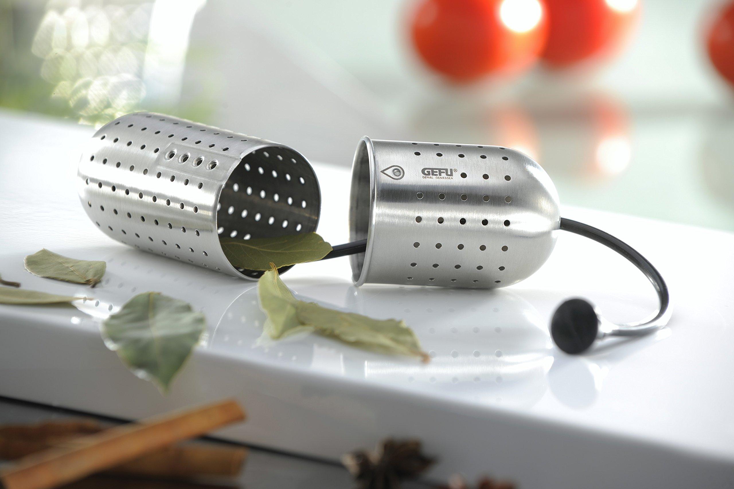 GEFU Gusto Adjustable Stainless Steel Tea & Spice Infuser/Strainer