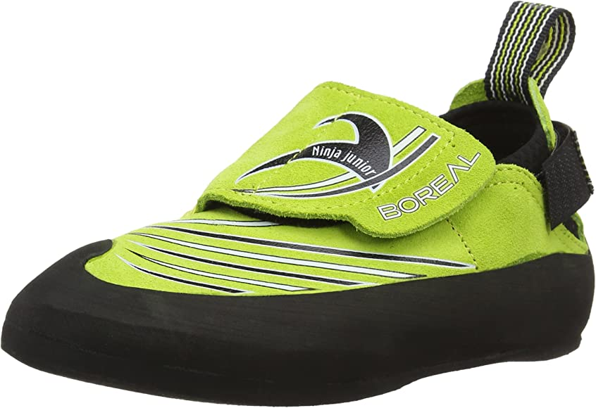 Amazon.com | Boreal Ninja Jr. Climbing Shoe - Kids Verde ...
