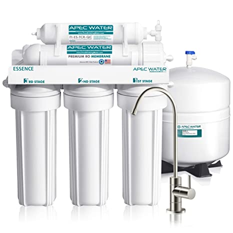 Apec Top Tier 5 Stage Ultra Safe Reverse Osmosis Drinking Water Filter System Essence Roes 50