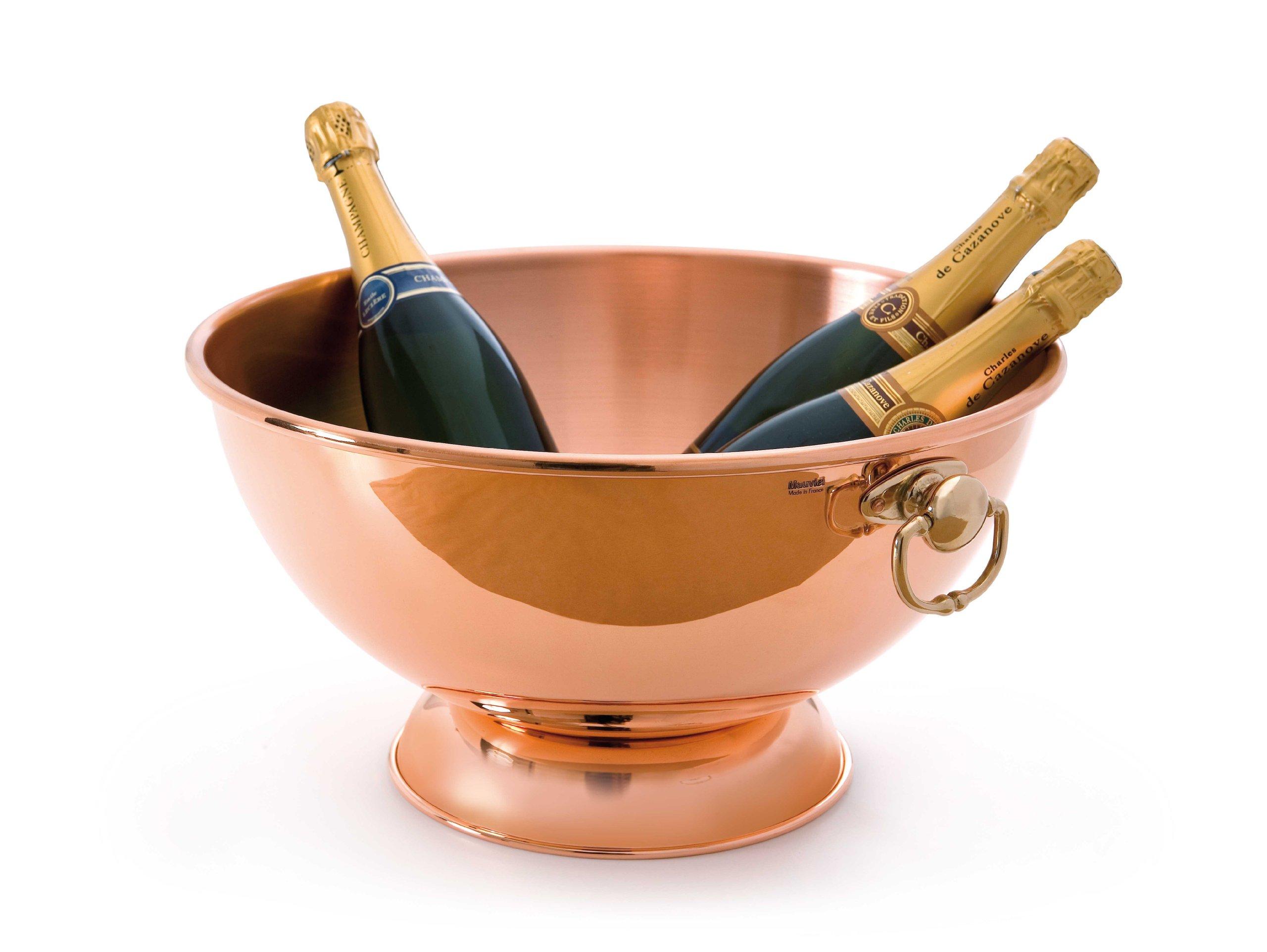 Mauviel M'Passion Champagne Bowl 40 Cm (Handle: Bronze)