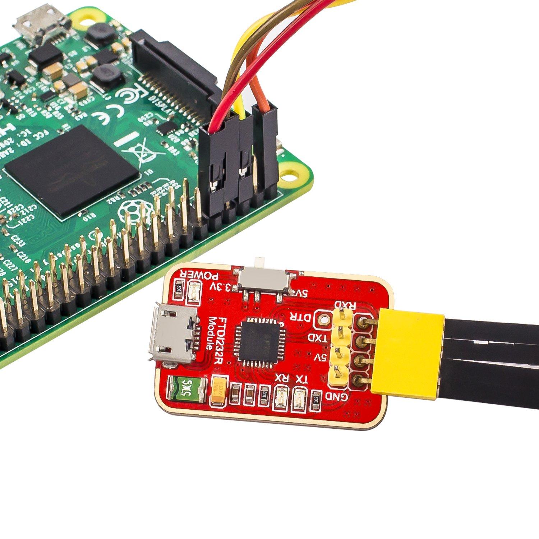 Sunfounder Gpio Extension Board T Shape Cobbler Breakout For Wiringpi Odroid C1 Ft232rl Ftdi Usb To Ttl Serial Adapter Module 33v 5v Arduino Raspberry Pi