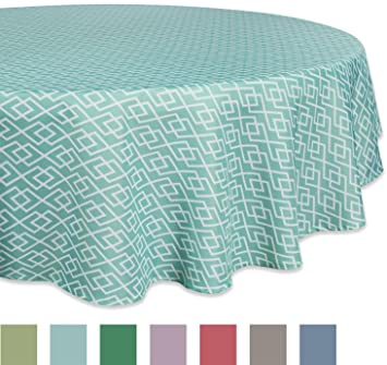 DII 100% Polyester, Spill Proof And Waterproof, Machine Washable, Tablecloth  For Outdoor