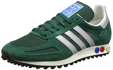 824a1fb6b2511 adidas Men s La Trainer OG Matte Silver Collegiate Green
