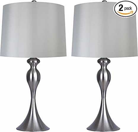Top Table Lamps Grey Shade Central Details @house2homegoods.net