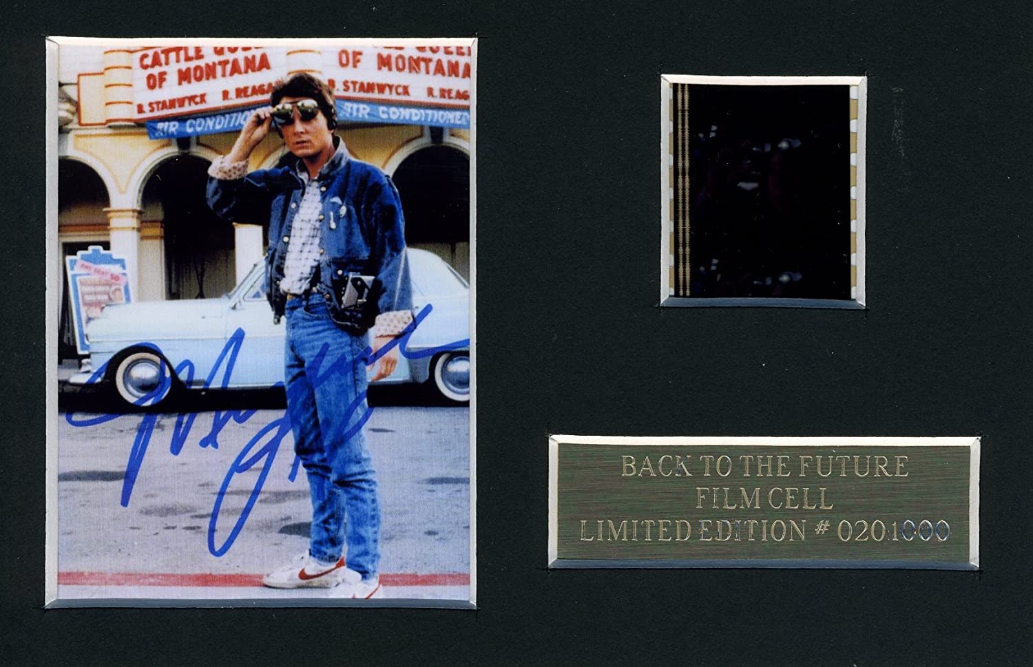 BACK TO THE FUTURE FILM CELL MOVIE MEMORABILIA M