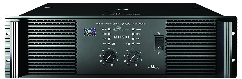 NX Audio Proton MT1201 Live Sound Power Amplifier