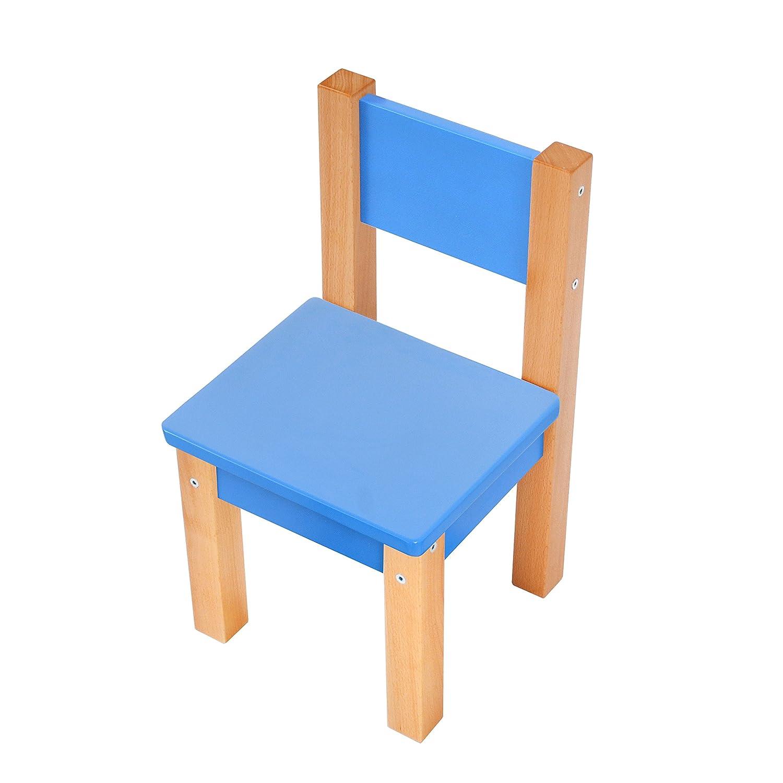 Kindertisch Mit 2 Stuhle 3 Tlg Set Sitzgruppe Fur Kinder Blau