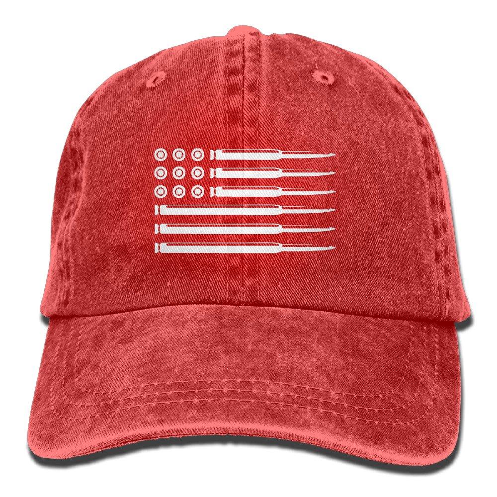 Amazon.com  AR15 Rifle Bullets American Flag Gun Rights Unisex Adjustable  Cotton Denim Hat Washed Retro Gym Hat FS DMhcap Cap Hat  Clothing e043b958496