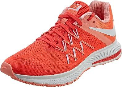 Nike 831562-601, Zapatillas de Trail Running para Mujer, Naranja (Bright Crimson/White/Atomic Pink/White), 43 EU: Amazon.es: Zapatos y complementos