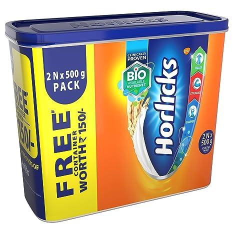 Standard Horlicks Health and Nutrition Drink - 2x500 g (Classic Malt)
