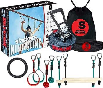 Amazon.com: Slackers Ninjaline 36 Intro Kit con 7 ...