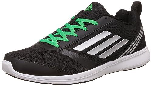pretty nice 21c79 fbf32 Adidas Mens Adiray M Cblack, Silvmt and Sollim Running Shoes - 10 UKIndia