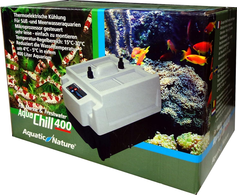 Aquatic Nature Aqua Chill kühlaggregat 400 para mar agua y acuarios de agua dulce: Amazon.es: Productos para mascotas