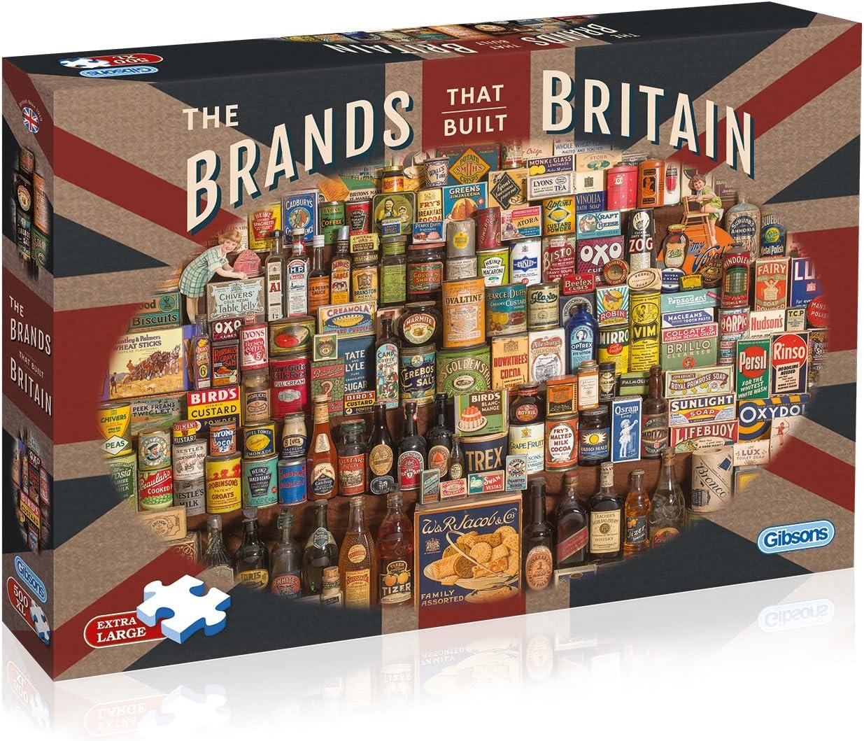 Les marques qui a construit la Grande-Bretagne 500XL