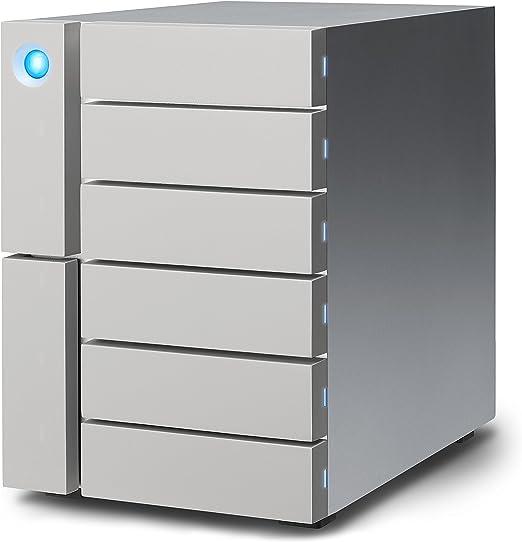 LaCie 6big Thunderbolt 3 RAID 96TB (STFK96000400)。