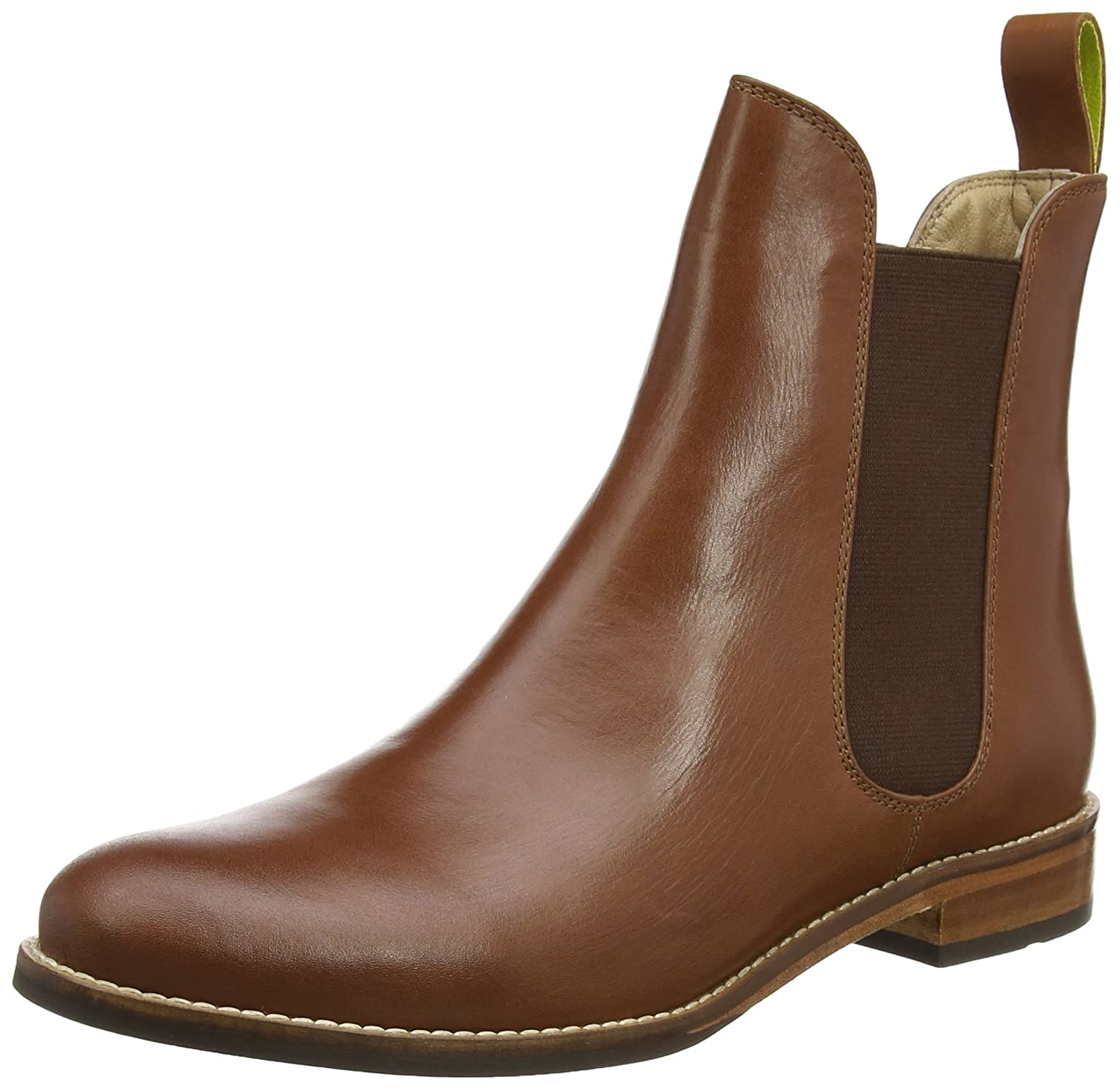 Joules Women's Westbourne Leather Chelsea Boots B01JGPSO98 10 B(M) US|Dark Brown