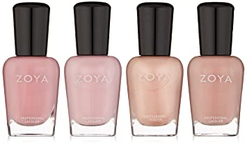 Amazon.com: Zoya Polish Quad Nail Polish, Under The Mistletoe ...