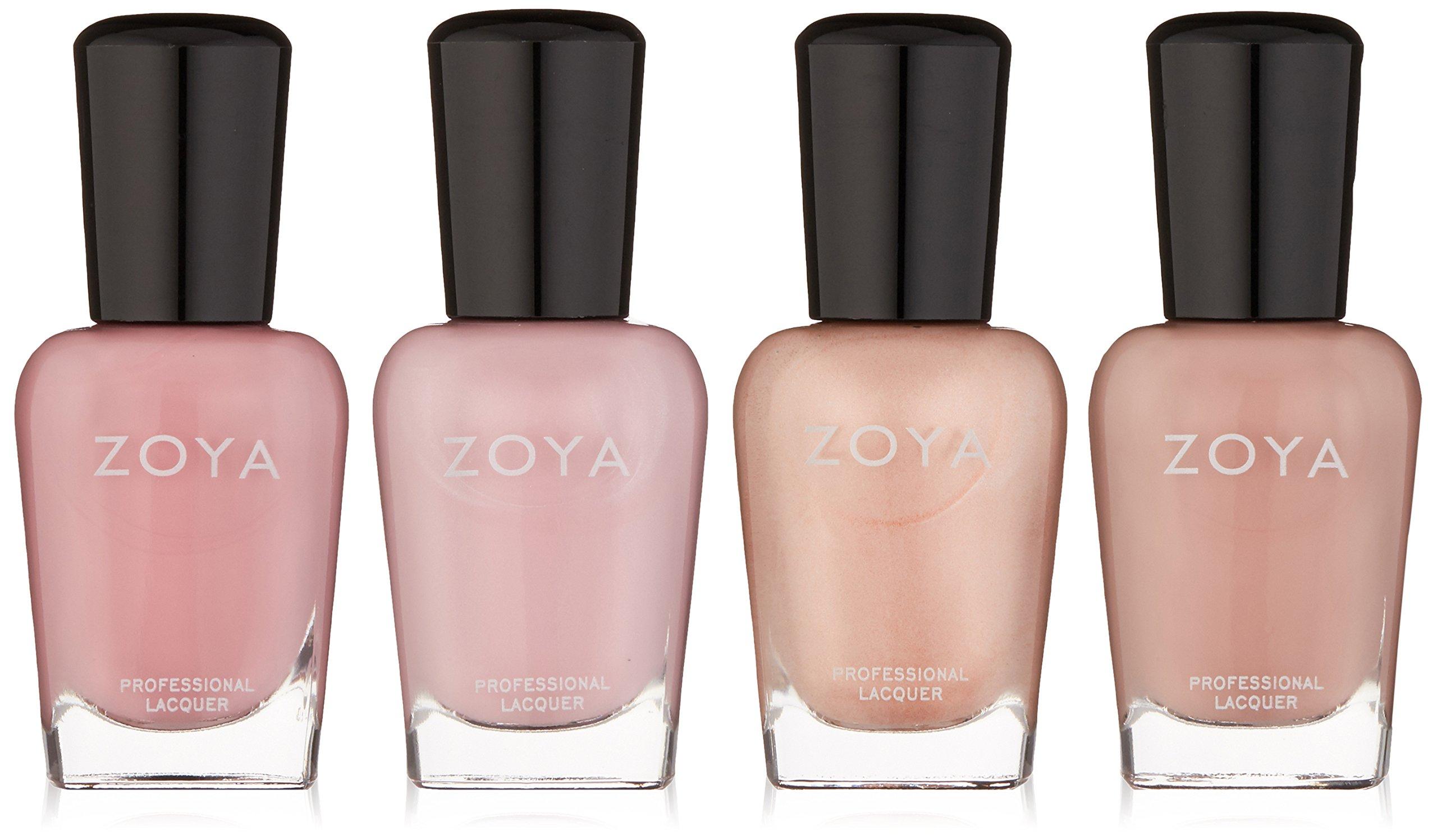 Zoya Polish Quad Nail