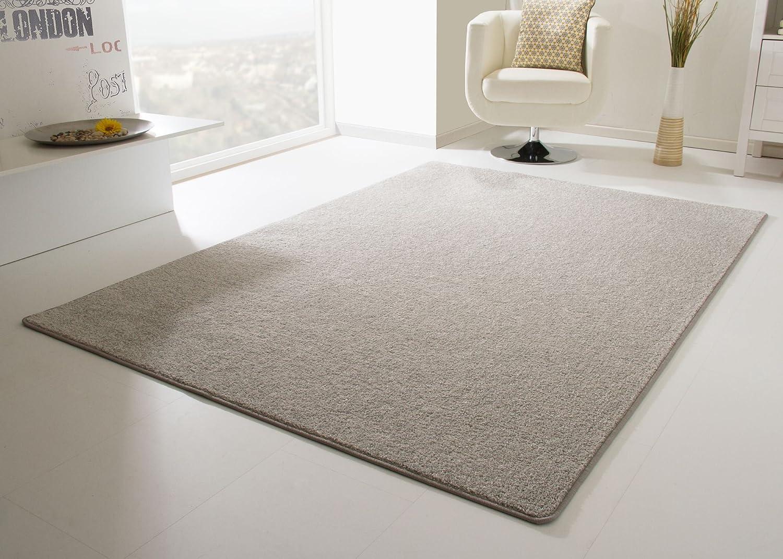 Designer Teppich Modern Cambridge in Grau, Größe  240x340 cm