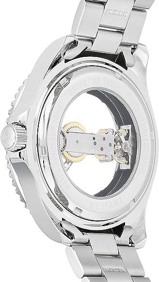Invicta Men Pro Diver MechanicalHandWind Watch with StainlessSteel Strap Silver 216 Model 24692