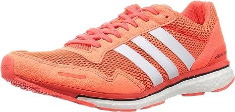 adidas Adizero Adios 3 M Zapatillas, Hombre, Naranja, 41 1/3: Amazon.es: Deportes y aire libre