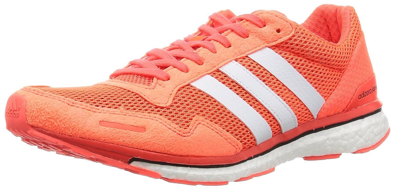 Adidas Adizero Adios 3 M, Zapatillas de Running para Hombre 48 EU Varios Colores (Rojo (Rojsol / Ftwbla / Negbas))