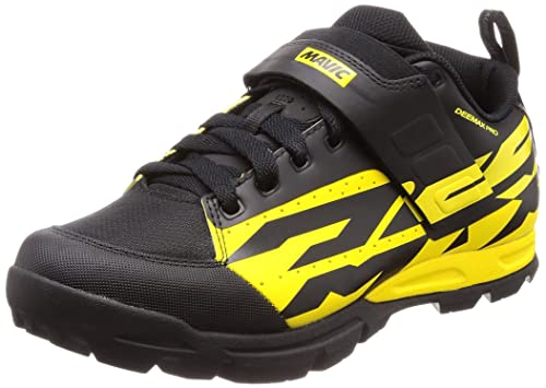 Mavic Deemax Pro - Zapatillas - Amarillo/Negro Talla 43 1/3 2018: Amazon.es: Zapatos y complementos