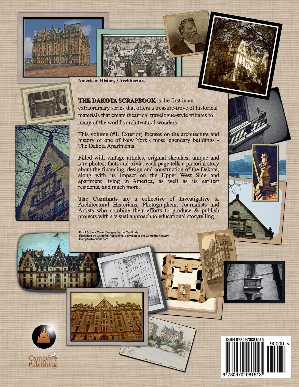 How to scrapbook with newspaper articles - The Dakota Scrapbook Volume 1 Exterior The Cardinals 9780970081513 Amazon Com Books