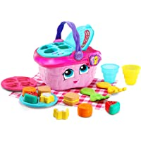LeapFrog Shapes and Sharing Picnic Basket (Frustration Free Packaging), Pink