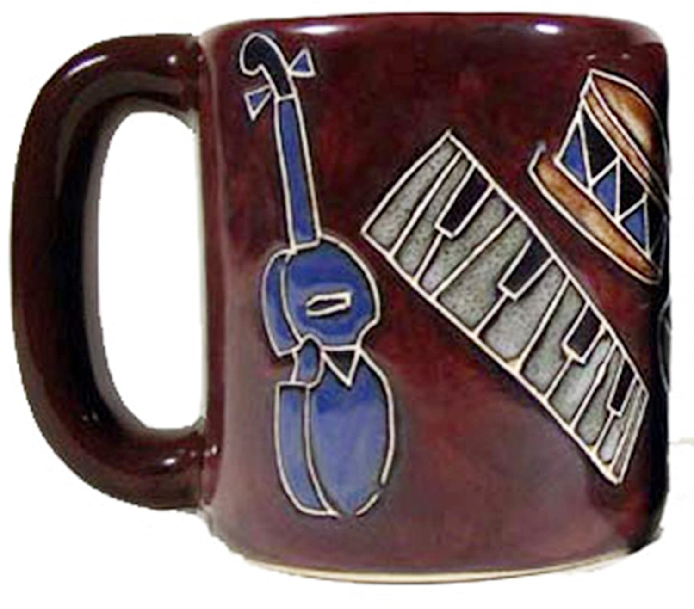 Musical Instruments 510L2 16 oz - 16 oz - Mara Stoneware Mug One Mug