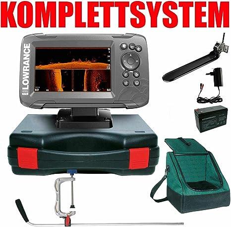 Lowrance Echolot Plotter Profi Plus Hook2 5 TripleShot Chirp Combo - GPS con GPS: Amazon.es: Deportes y aire libre