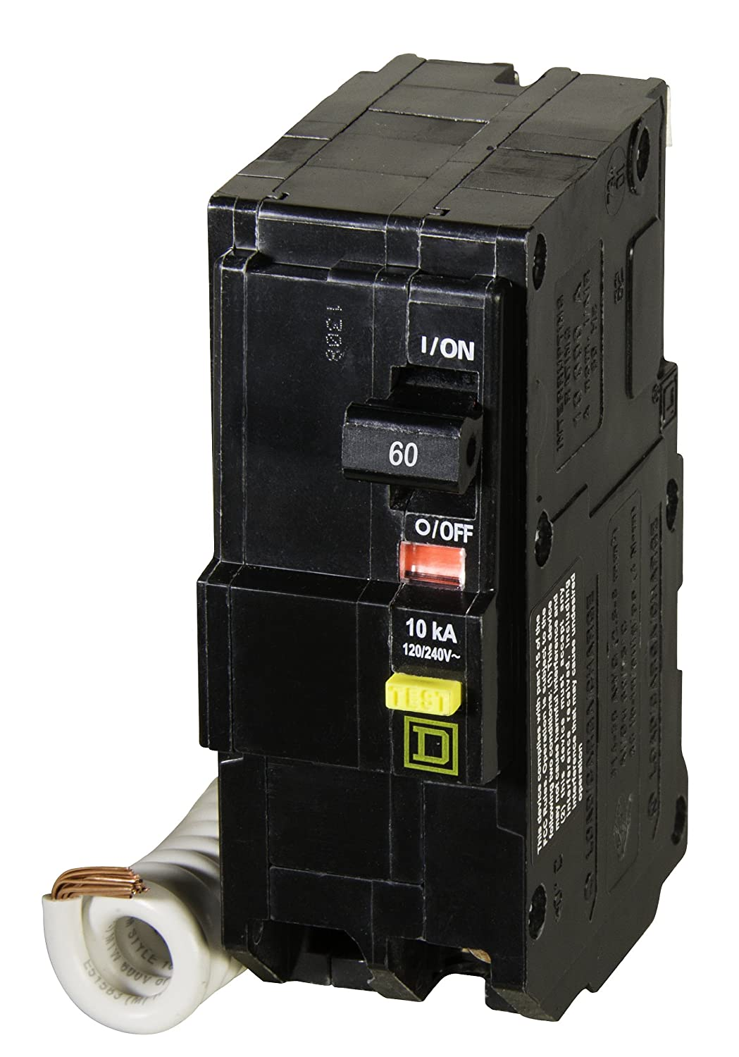 81G3Y2clx L._SL1500_ square d by schneider electric qo260gficp qo 60 amp two pole gfci qo260gfi wiring diagram at couponss.co