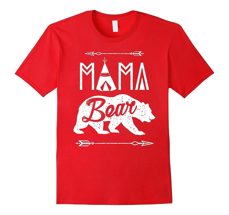 Mama Bear Papa Bear T-shirt - Funny Camping shirt-FL