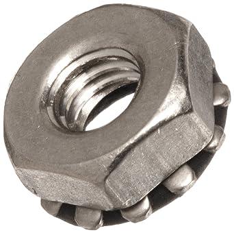 5 pk. 3//4-10 Plain Finish 316 Stainless Steel Jam Hex Nuts