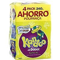 Kandoo Toallitas Húmedas Para Bebé Aroma Melón - 4 Paquetes (Toallitas), 240 Unidad