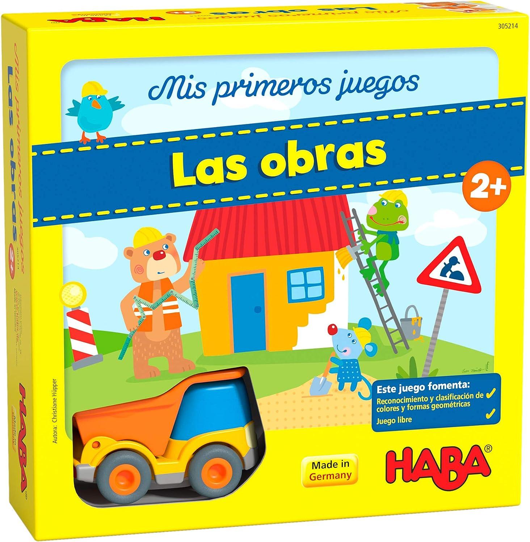 Haba Mesa Mis Primeros Juegos-Las Obras-ESP, multicolor (H305214) , color, modelo surtido: Amazon.es: Juguetes y juegos
