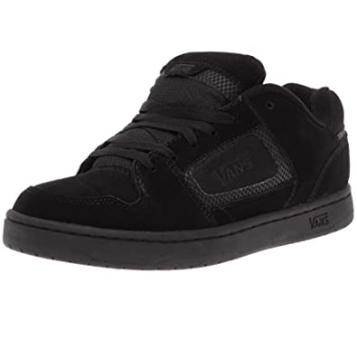 black vans skate shoes
