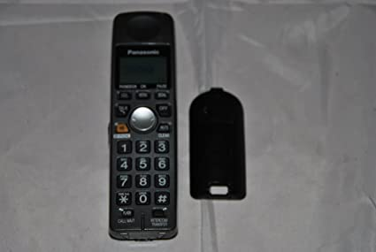 amazon com panasonic kx tga101b accessory cordless handset only rh amazon com Panasonic Cordless Phones Tech Panasonic Kx Tg2632 Handset
