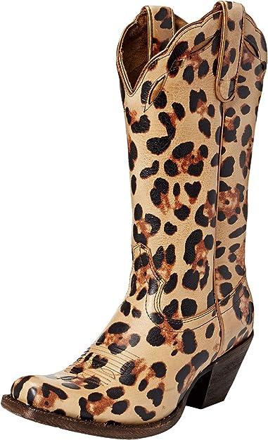 ARIAT Womens Leopard Larue Western Boot