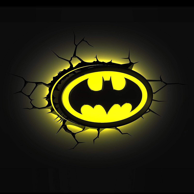 Amazon 3dlightfx warner bros dc comics batman emblem logo 3d amazon 3dlightfx warner bros dc comics batman emblem logo 3d deco light toys games biocorpaavc Choice Image