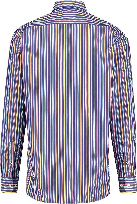 6 8x Uomo Camicia da sotto ascella Camicia Bianco Doppelripp MIS